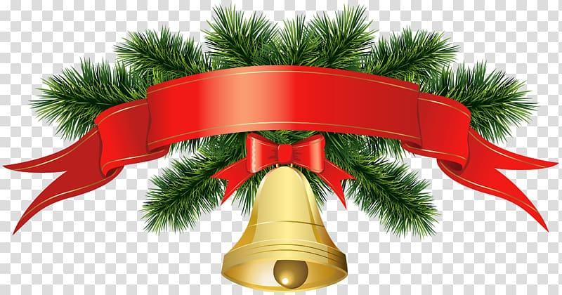 Banner with santa clipart png freeuse download Red ribbon clip, Christmas decoration Santa Claus , Christmas Golden ... png freeuse download