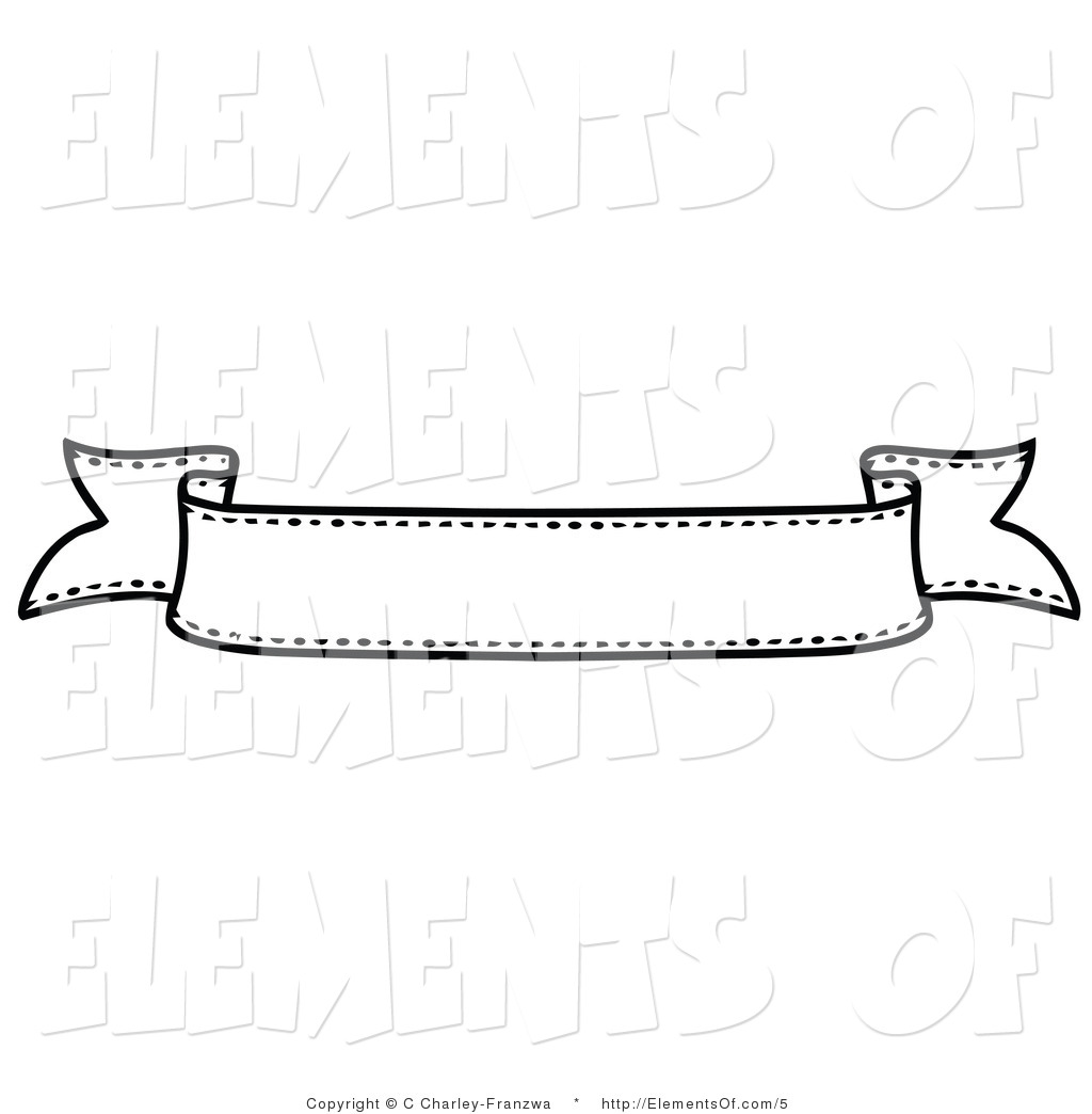 Banners black and white with lines clipart royalty free library Black and white banner clipart 3 » Clipart Station royalty free library