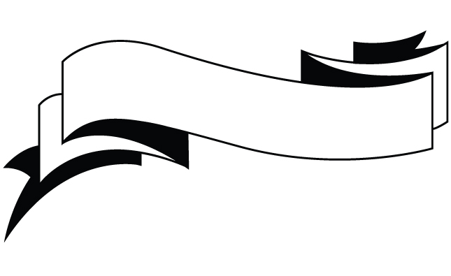 Ribbon banner clipart black and white vector royalty free download Free Ribbon Vector Black White Png, Download Free Clip Art, Free ... vector royalty free download
