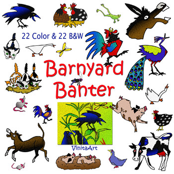 Banter clipart royalty free download Barnyard Banter, Clipart, Story book clip art, Denise Fleming inspired royalty free download