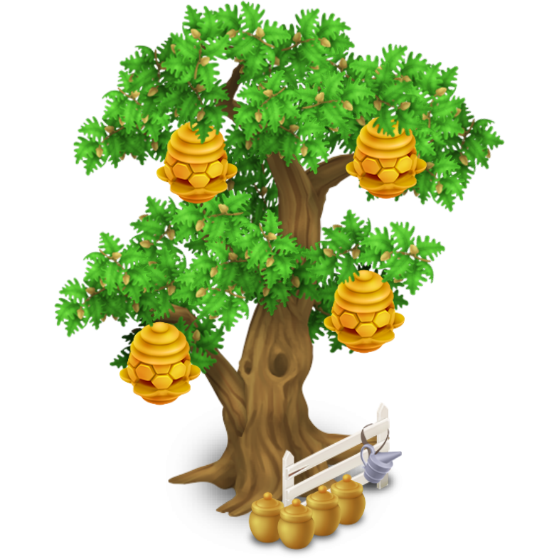 Baobab tree clipart black and white Beehive Tree | Hay Day Wiki | FANDOM powered by Wikia black and white