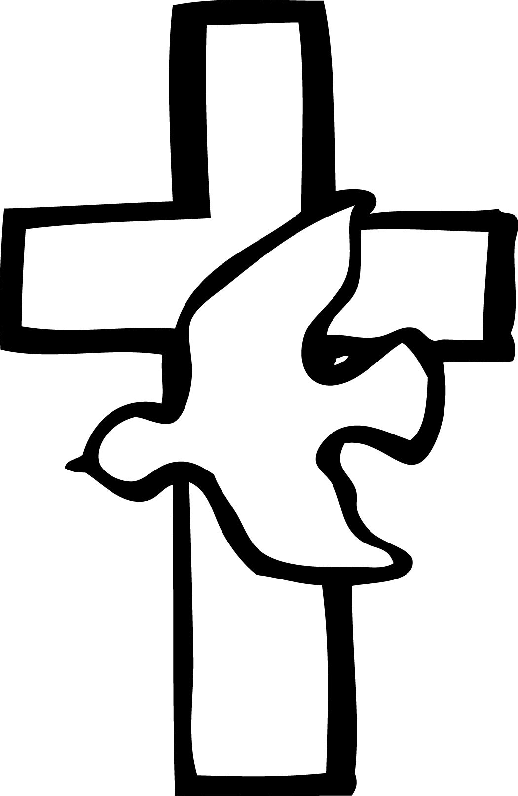 Baptism clipart black and white just the letters