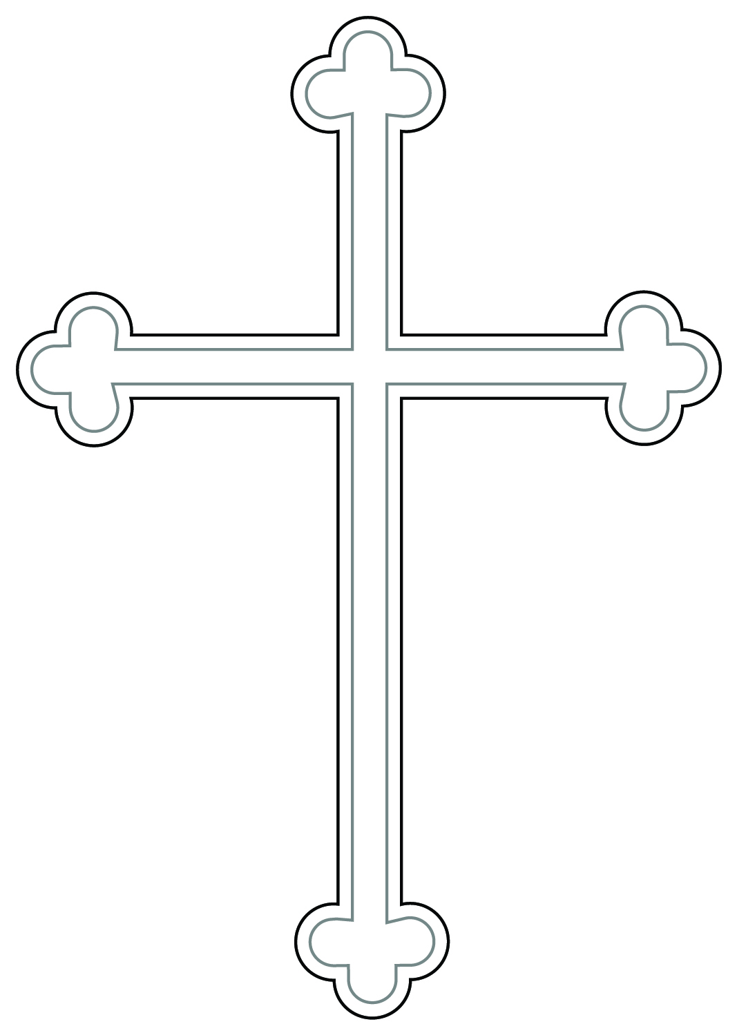 Baptism clipart gold cross jpeg black and white download Free Baptism Cross Cliparts, Download Free Clip Art, Free Clip Art ... black and white download