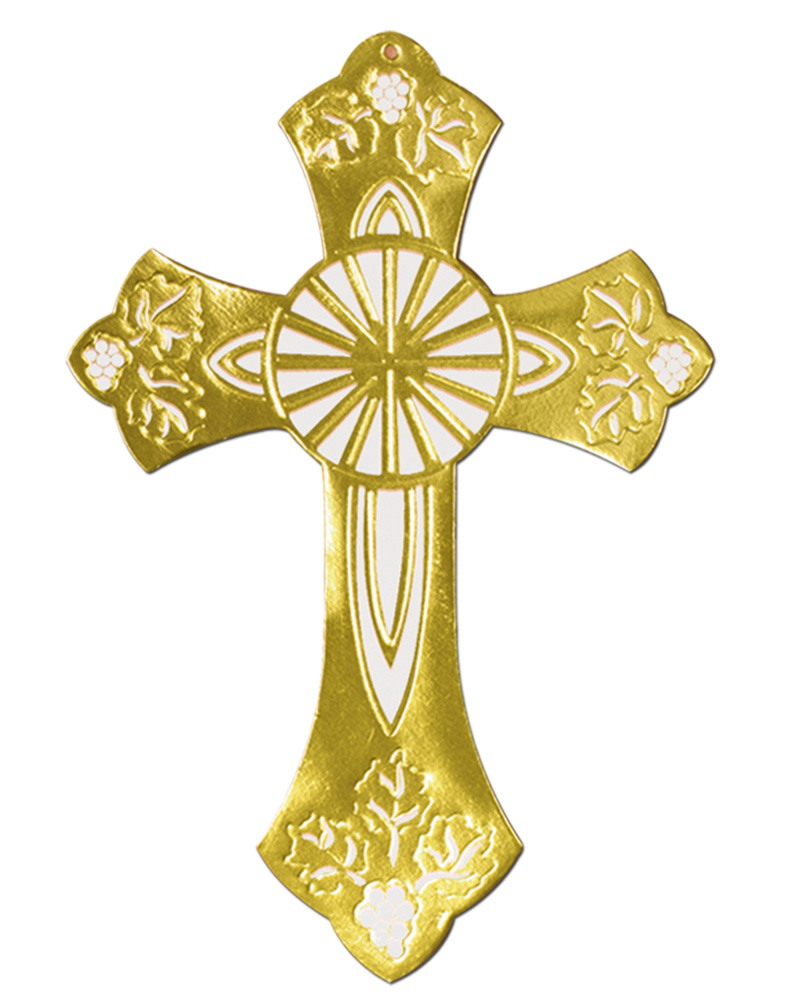 Baptism clipart gold cross jpeg image Baptism gold cross : Real estate schools miami image