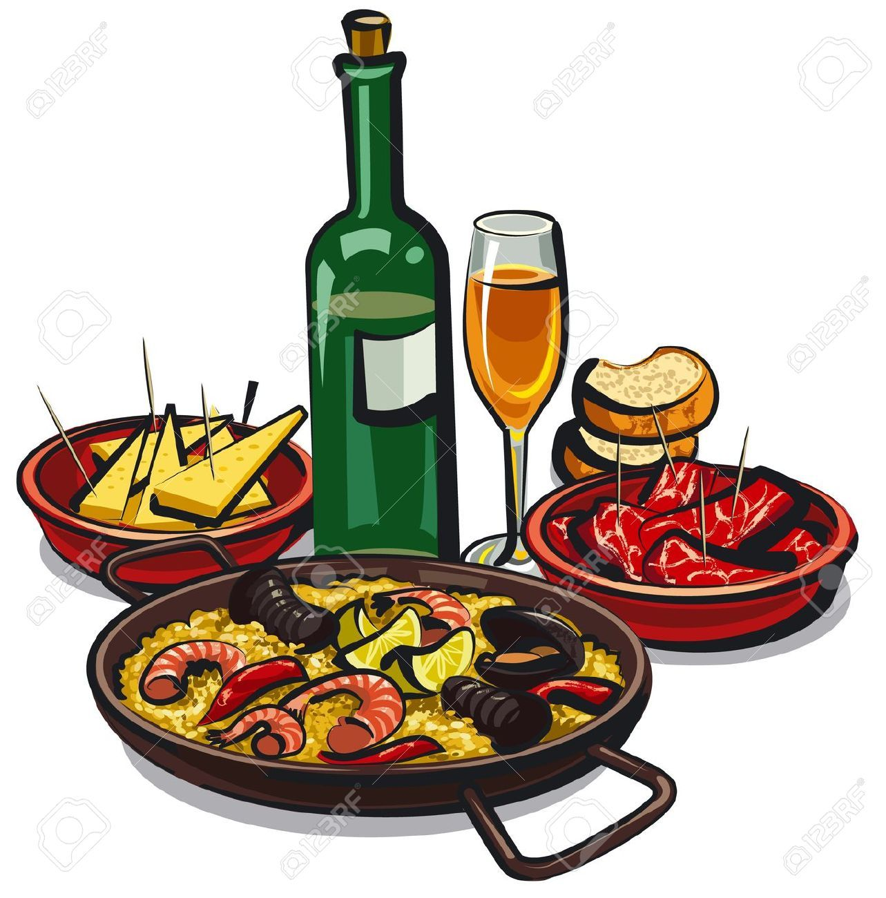 Bar and grill food clipart clipart Restaurant food clipart 3 » Clipart Portal clipart