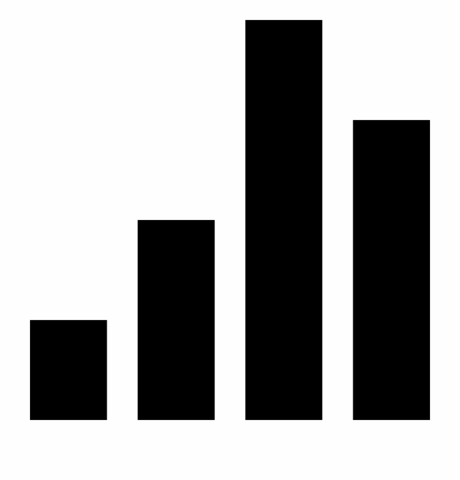 Bar graph icon clipart clipart library download Volume Vertical Black Bars Group Comments - Graph Icon Black And ... clipart library download