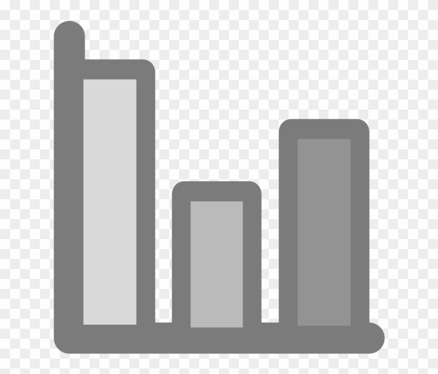 Bar graph icon clipart vector black and white stock Bar Chart Line Chart Computer Icons Graph Of A Function - Clip Art ... vector black and white stock