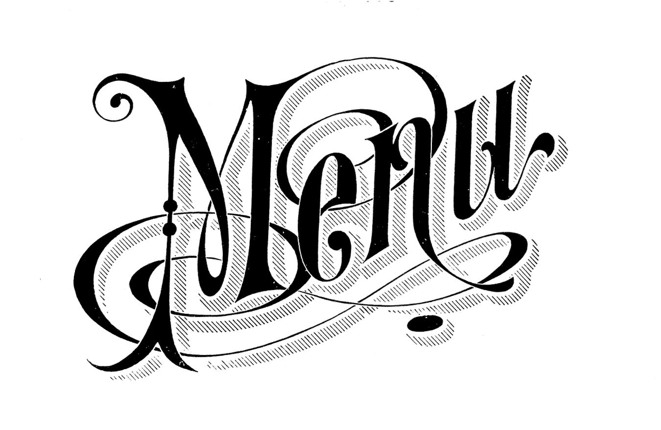 Vintage headline clipart picture stock Menu Cliparts | Free download best Menu Cliparts on ClipArtMag.com picture stock