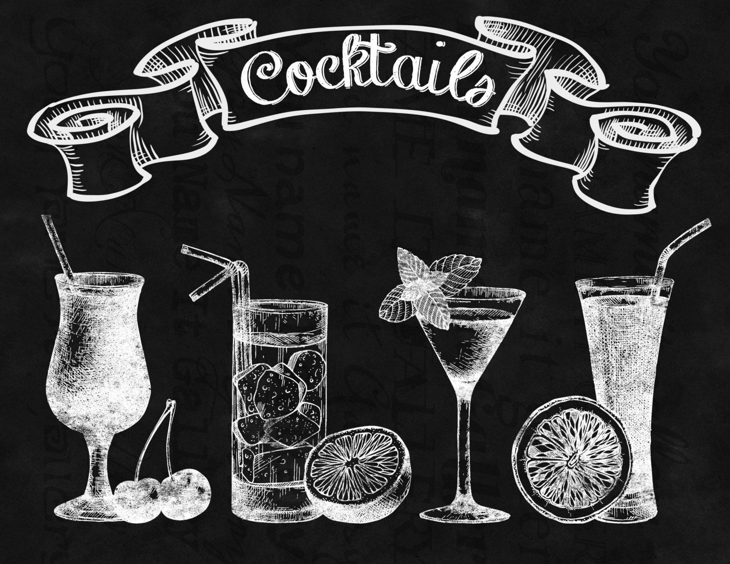 Bar sangria drinks clipart outline graphic royalty free library cocktail chalkboard drawing - Google zoeken … | Chalk board | Chalk… graphic royalty free library