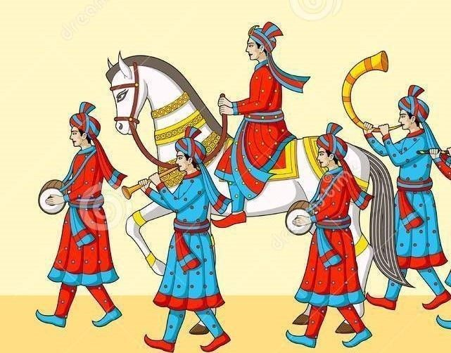 Baraat clipart image free library Indian wedding baraat clipart 5 » Clipart Station image free library