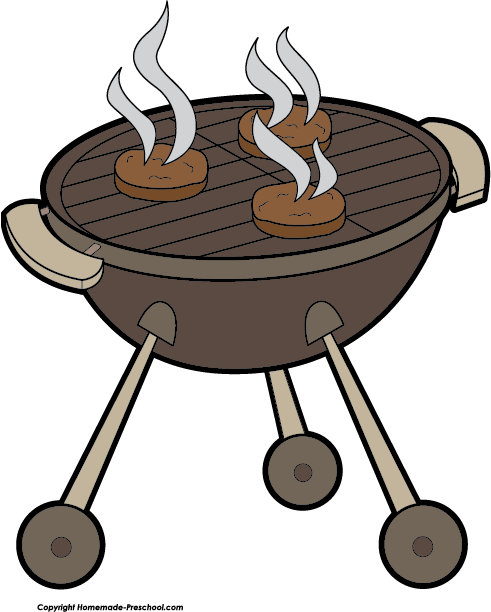 Barbaque grill clipart