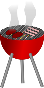 Barbecue cookout clipart png library download Barbecue Grill Clip Art at Clker.com - vector clip art online ... png library download