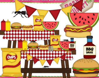 Barbecue cookout clipart jpg black and white library Free Barbeque Cookout Cliparts, Download Free Clip Art, Free Clip ... jpg black and white library