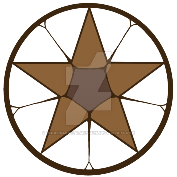 Rustic star clipart clip library library Claude Faustus Contract Seal by ModernMortalServices on DeviantArt clip library library