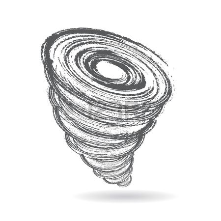 Barbed wire tornado clipart picture black and white library Stock Vector in 2019 | 3D Graphics icons | Tornado season, Design ... picture black and white library
