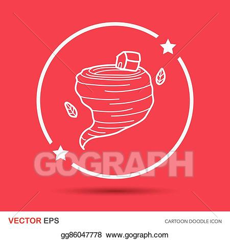 Barbed wire tornado clipart download EPS Illustration - Tornado doodle. Vector Clipart gg86047778 - GoGraph download