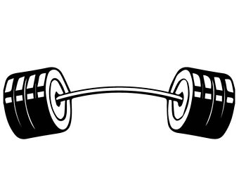 Barbell clipart image clip black and white download Barbell Clipart | Free download best Barbell Clipart on ClipArtMag.com clip black and white download