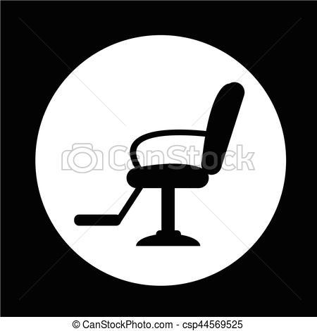 Barber chair clipart jpg Barber Chair Icon jpg