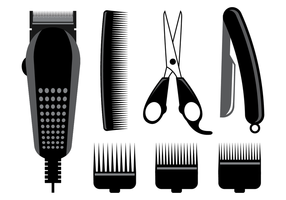 Barber electric clippers clipart vector b w png transparent download Hair Clippers Free Vector Art - (911 Free Downloads) png transparent download