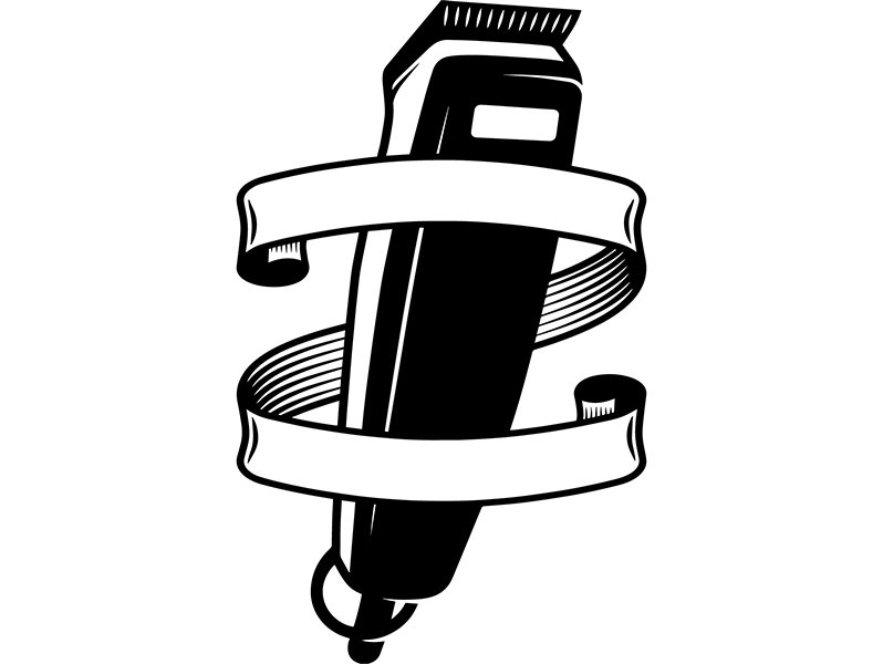 Barber electric clippers clipart vector b w jpg transparent download Hair Clipper Drawing | Free download best Hair Clipper Drawing on ... jpg transparent download