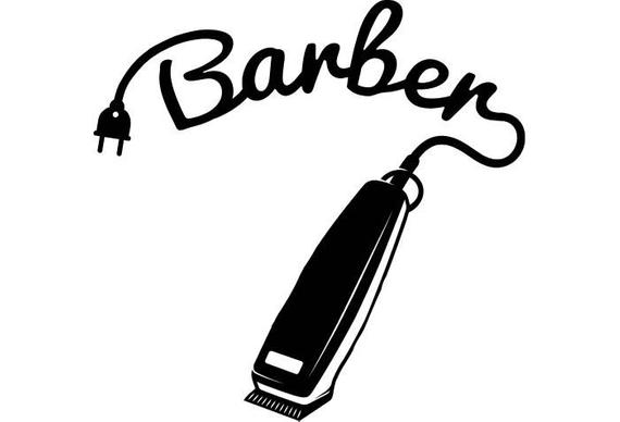Barber electric clippers clipart vector b w vector freeuse Hair Clipper Drawing at PaintingValley.com | Explore collection of ... vector freeuse