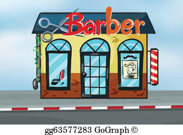 Barber shop clipart free picture transparent library Barber Shop Clip Art - Royalty Free - GoGraph picture transparent library