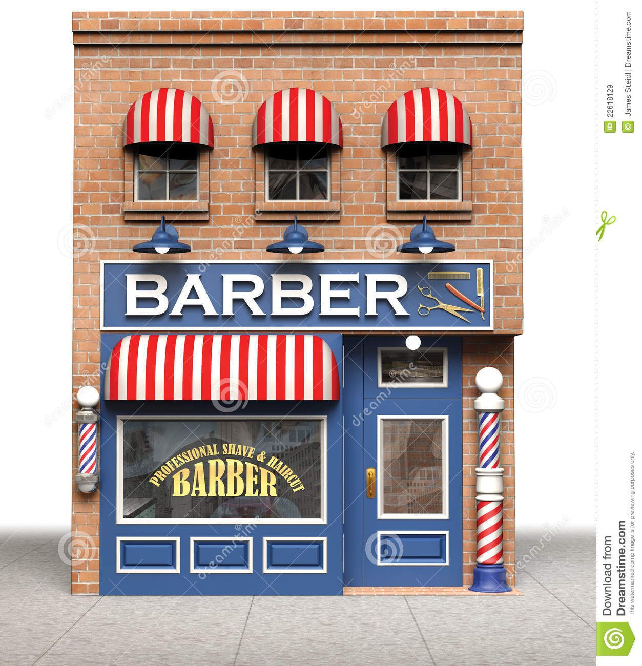 Barber shop clipart free graphic royalty free library Barber Shop - Download From Over 53 Million High Quality Stock ... graphic royalty free library
