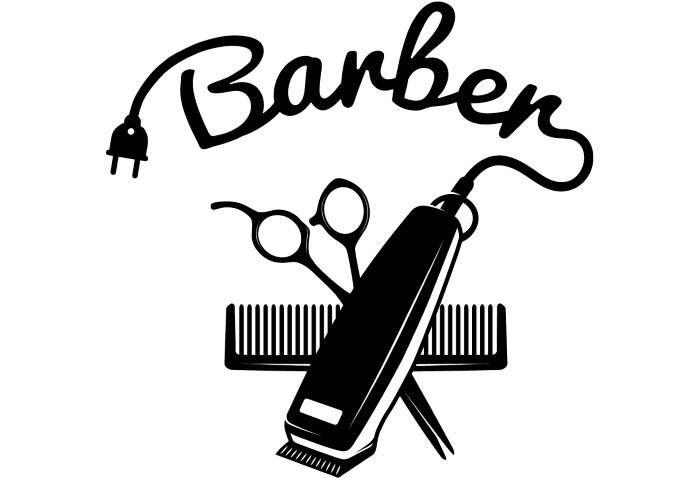 Barber shop clipart free banner freeuse Image result for black barber shop svg | Silhouette | Barber logo ... banner freeuse