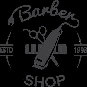 Barber shop logo vector clipart svg royalty free library Barber shop Logo Vector (.AI) Free Download svg royalty free library