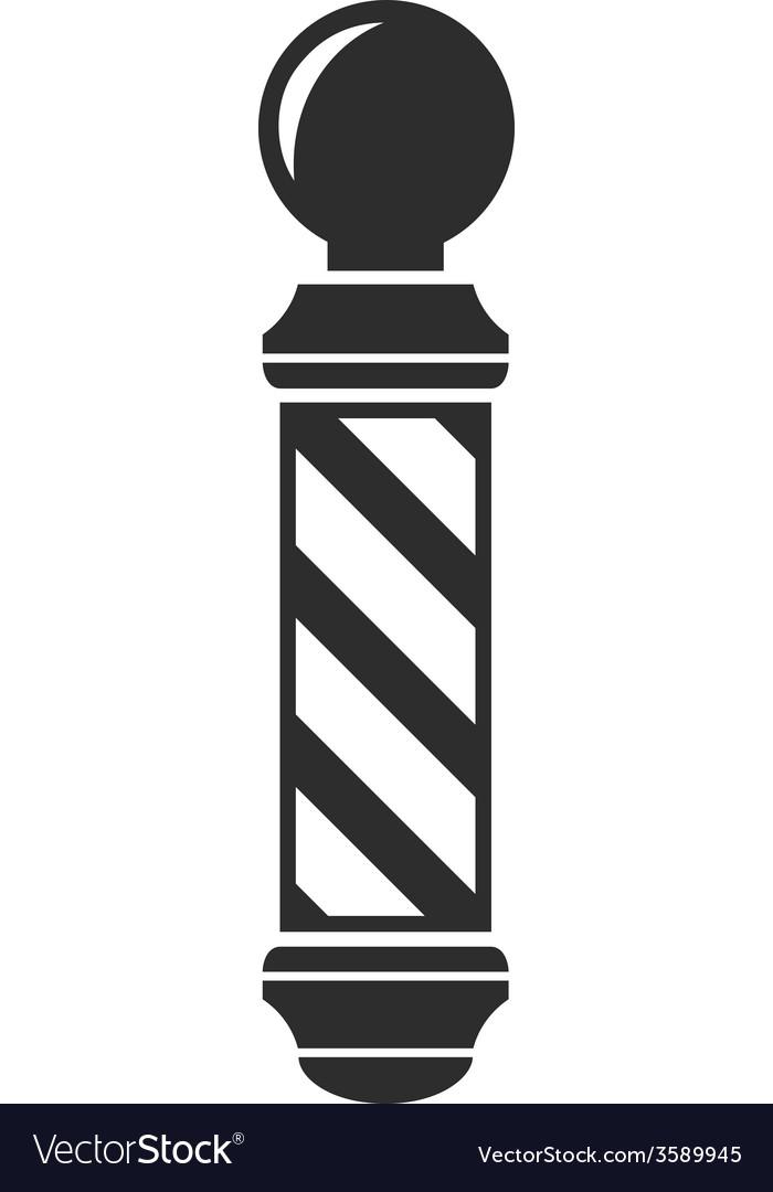 Barber shop symbol clipart graphic Barber shop pole sign graphic