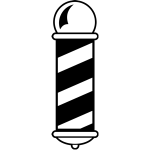 Barber shop symbol clipart svg freeuse download Barber Pole Icon #334126 - Free Icons Library svg freeuse download