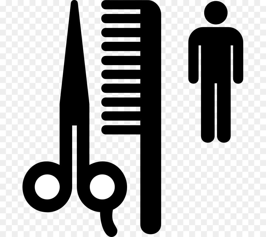 Barber shop symbol clipart banner black and white download White Background clipart - Barber, Hairdresser, Text, transparent ... banner black and white download