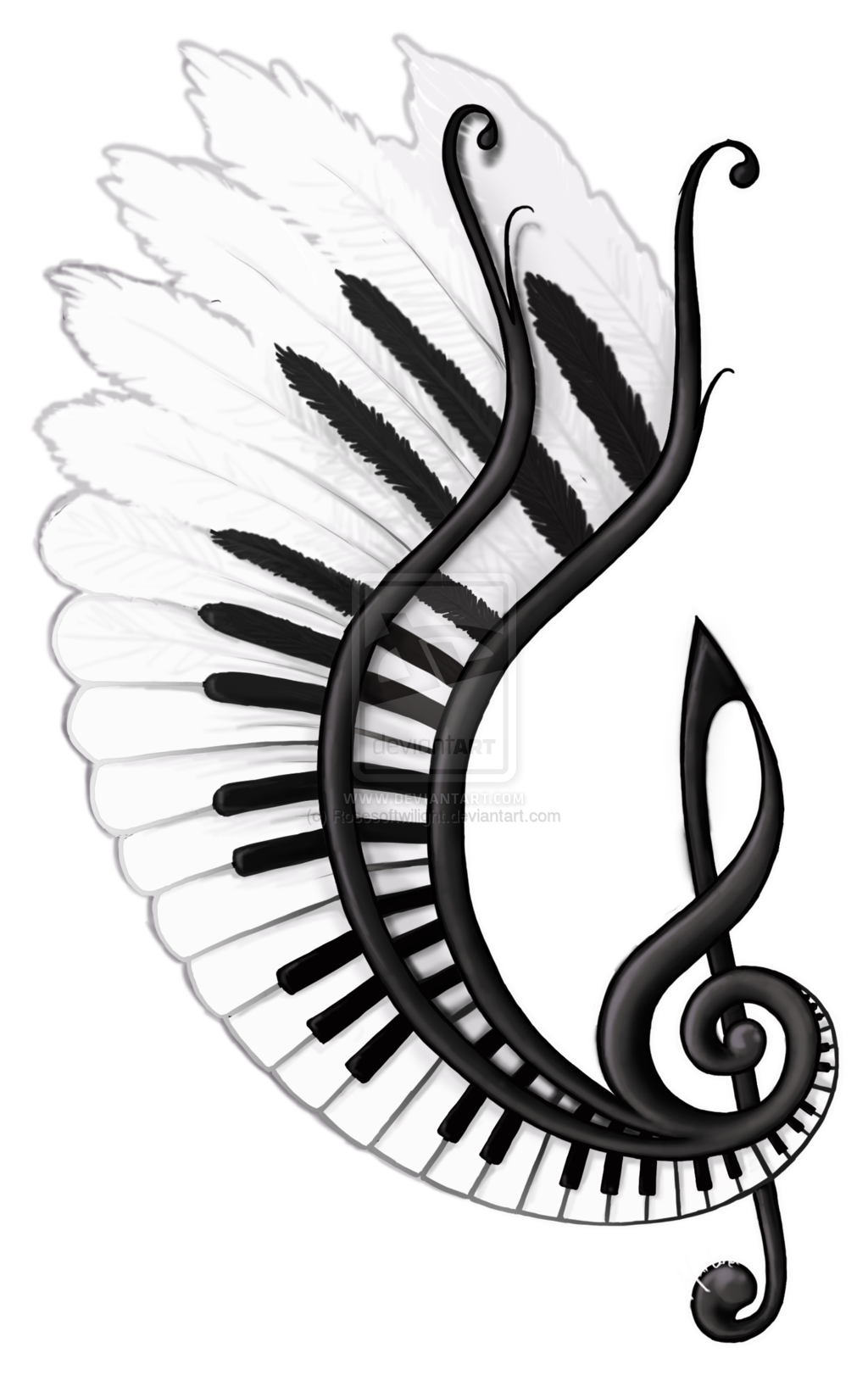 Barber shop wings crown clipart jpg library download Image result for music related drawings | Tattoos | Pinterest | Draw ... jpg library download