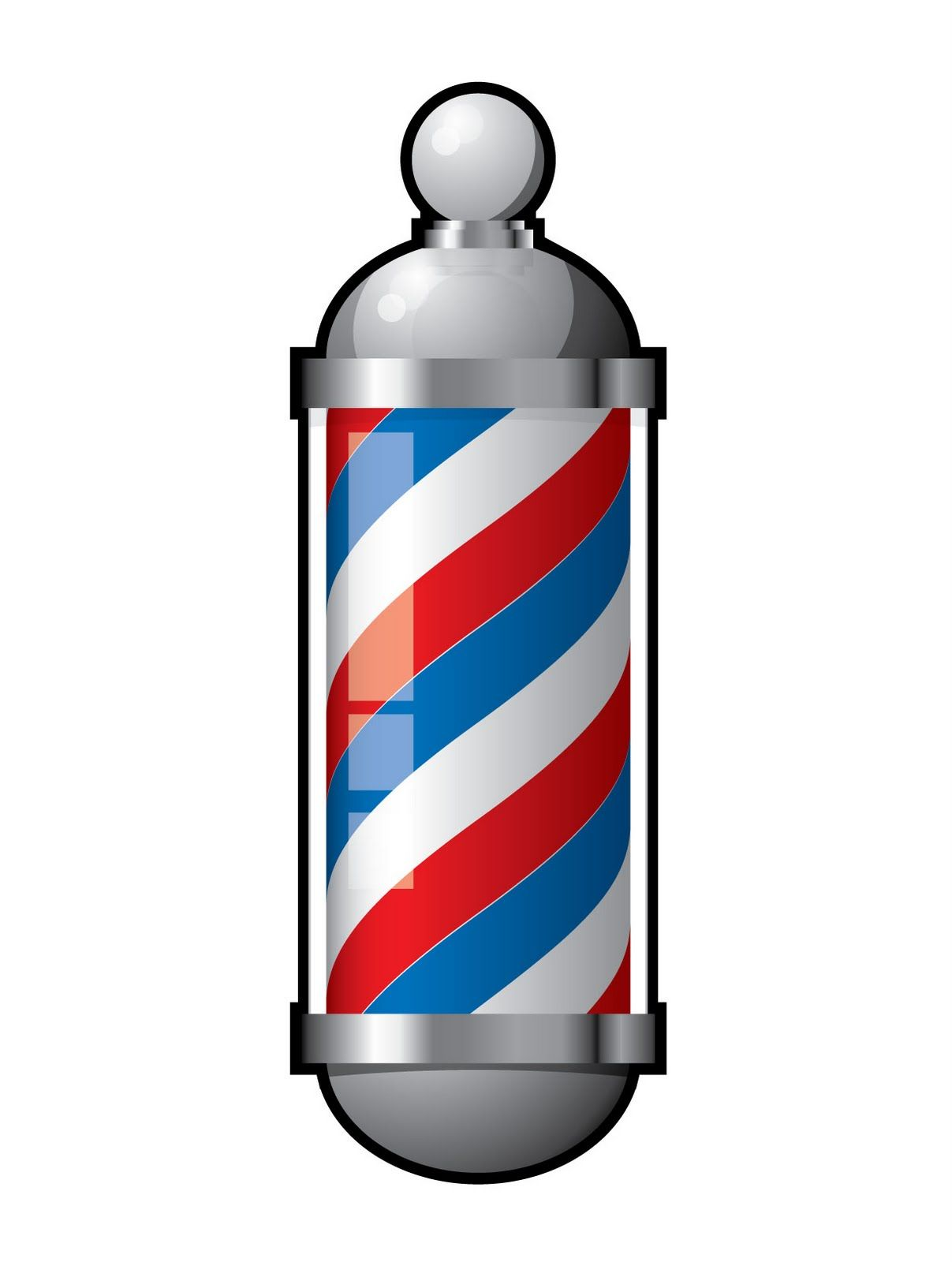 Clipart barber pole image transparent library Barber Pole Vector - ClipArt Best | Mobile office in 2019 | Barber ... image transparent library