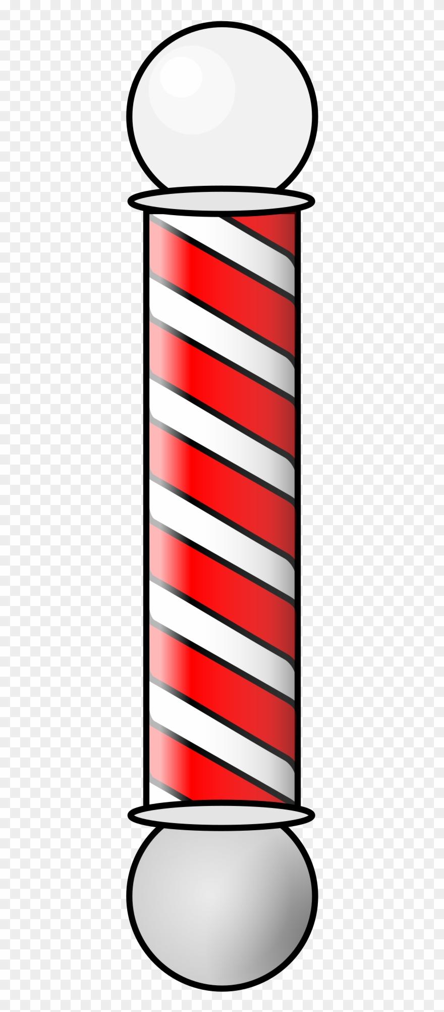 Barbershop clipart svg black and white Freeuse Download Barbershop Smil Animation Big - Barber Shop Pole ... svg black and white