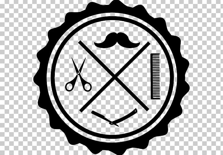 Barbershop icons logos cliparts vector freeuse Barbershop Beauty Parlour User Computer Icons PNG, Clipart, Area ... vector freeuse