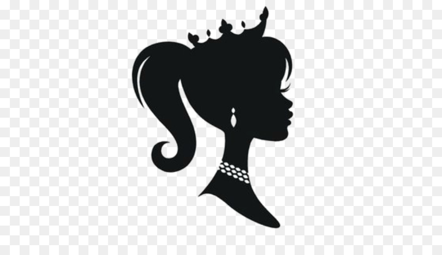 Barbie silhouette clipart vector black and white download Free Barbie Silhouette Image, Download Free Clip Art, Free Clip Art ... vector black and white download