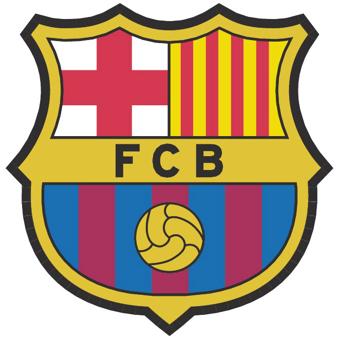 Barcelona logo clipart 512x512 clipart library FC Barcelona vector logo - Free vector image in AI and EPS format. clipart library