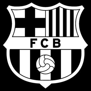 Barcelona logo clipart 512x512 clip art black and white stock FC Barcelona Logo Vector (.EPS) Free Download clip art black and white stock