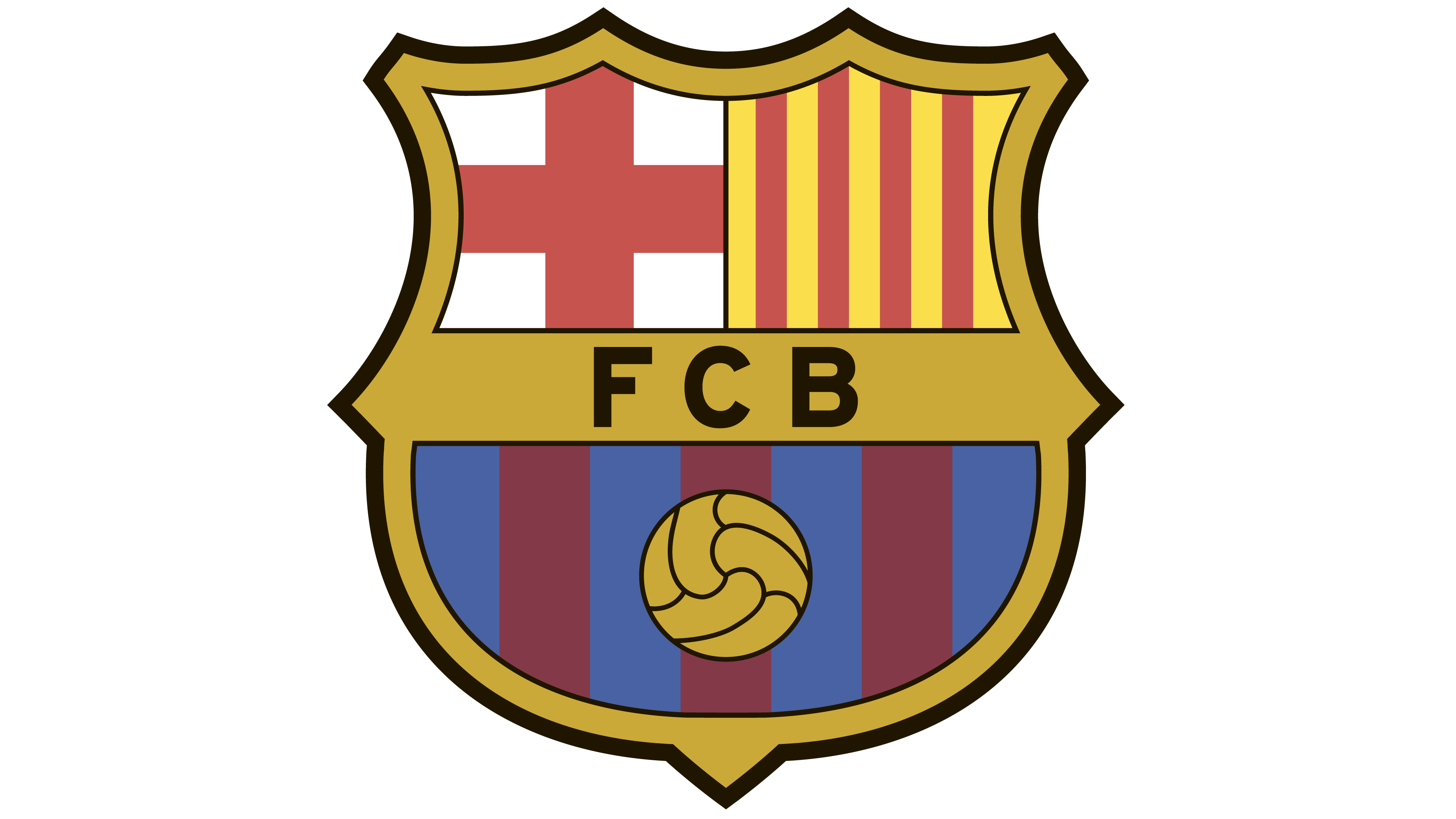 Barcelona logo clipart hd jpg transparent stock Barcelona logo - Interesting History of the Team Name and emblem jpg transparent stock