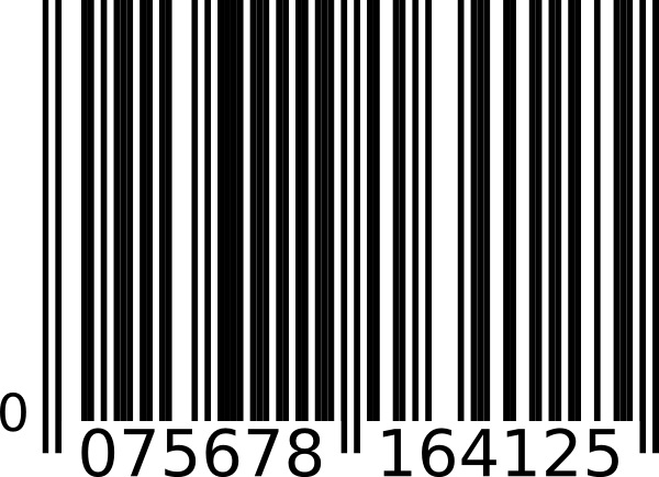 Barcode image clipart svg free stock Barcode clipart chocolate - 122 transparent clip arts, images and ... svg free stock