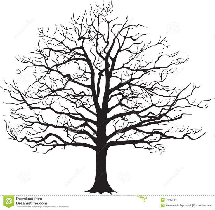 Bare oak tree clipart black and white clip royalty free library Oak Tree Clipart Black And White | Free download best Oak Tree ... clip royalty free library