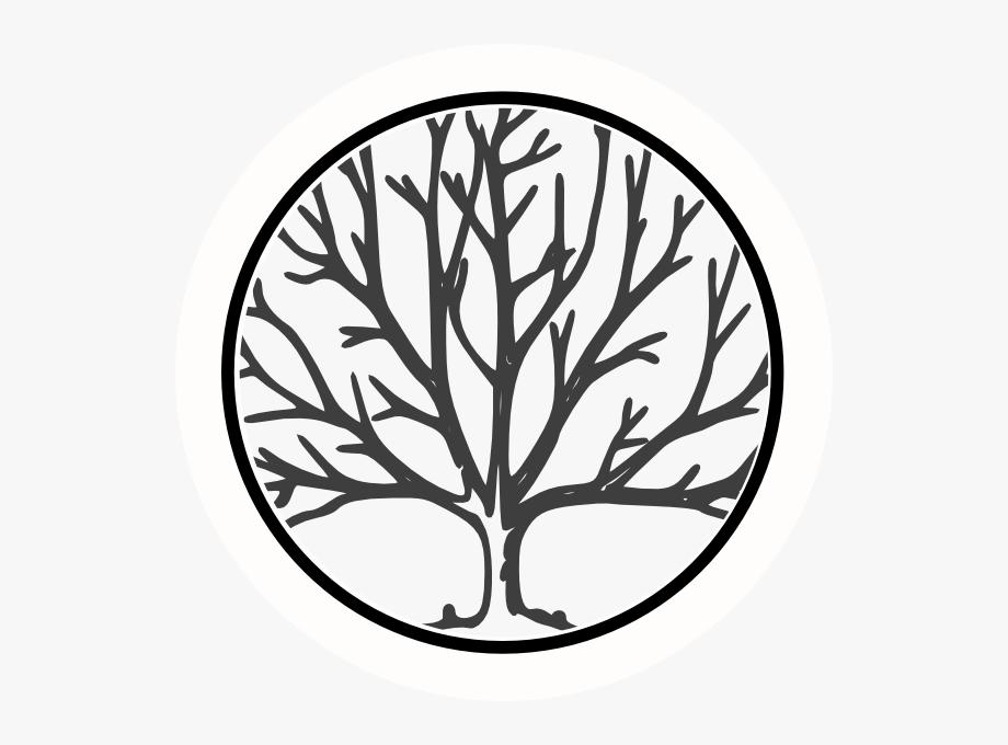 Bare oak tree clipart black and white clipart free Black And White Oak Tree Clipart - Bare Tree Silhouette #211169 ... clipart free