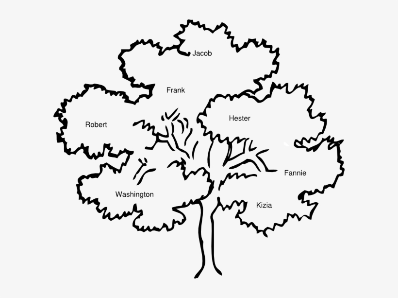 Coloring page of a oak tree clipart graphic Oak Tree Outline Clip Art, Coloring Page Of A Bare - Clip Art Trees ... graphic