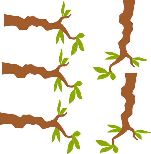 Clipart tree branches picture royalty free library Tree Branch Clip Art at Clker.com - vector clip art online, royalty ... picture royalty free library