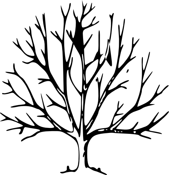 Black and white tree branch clipart png black and white download Tree Clip Art at Clker.com - vector clip art online, royalty free ... png black and white download