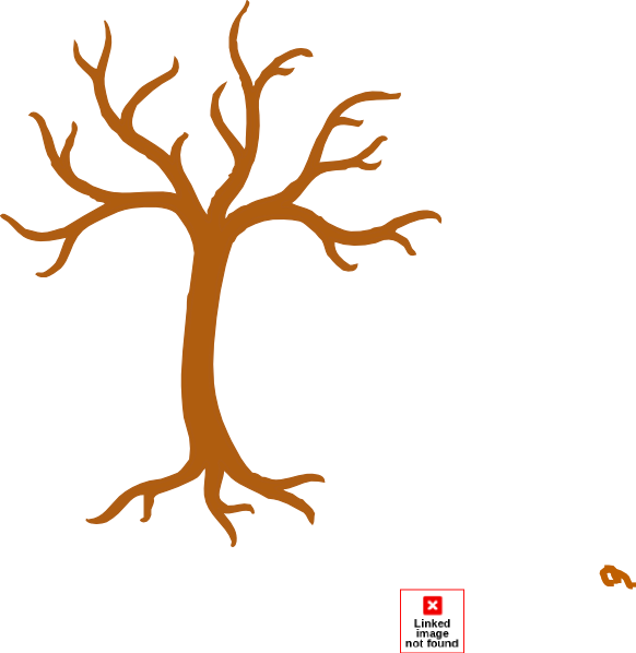 Tree no leaves clipart picture black and white library Tree No Leaves Clip Art at Clker.com - vector clip art online ... picture black and white library