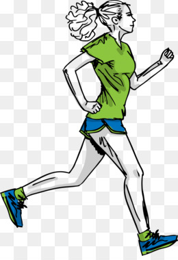 Barefoot running clipart image black and white Barefoot Running PNG and Barefoot Running Transparent Clipart Free ... image black and white