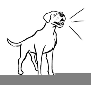 Barking clipart graphic freeuse library Free Clipart Dog Barking | Free Images at Clker.com - vector clip ... graphic freeuse library