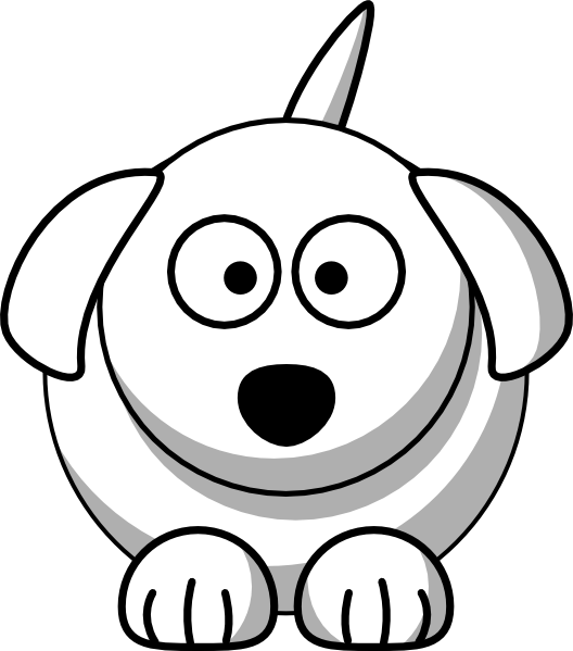 Boxer dog face clipart image library download Black And White Dog Clipart | Free download best Black And White Dog ... image library download